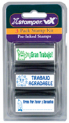 Xstamper Spanish Teacher Stamp - Kit 1 - 35185
