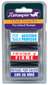 Xstamper Spanish Teacher Stamp - Kit 4 - 35188