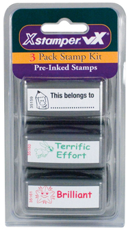 Xstamper Teacher Stamps - Kit 3 - 35207